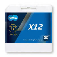 KMC 12SP X-CHAIN CAMPY/SRAM, SILVER