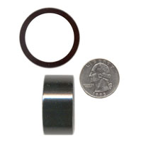 1 1/8x20mm HEADSET SPACER, Black